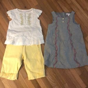 Janie and jack outfits